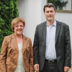 Uta Böckel und Dr. Sascha Raabe