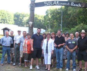 Besuch im Solarpark in Gelnhausen