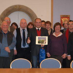 Hasselrother SPD in Gotha vom OB im Rathaus empfangen