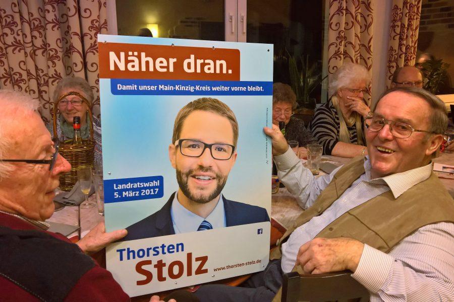 Unterstützung der Hasselrother SPD AG60 für Thorsten Stolz
